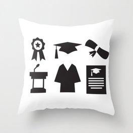 Graduation Day Throw Pillow