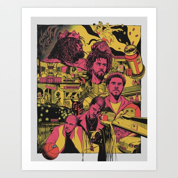 Cole World - The Story Art Print