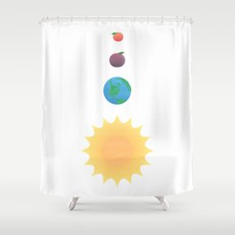 You are my Peach Shower Curtain