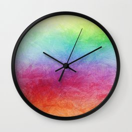 Color Harmony Wall Clock