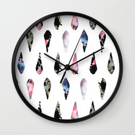 Rock Chandeliers Wall Clock