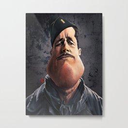 "Brad ""Aldo Raine"" Pitt Metal Print"