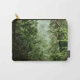 Deep Green Forest Carry-All Pouch