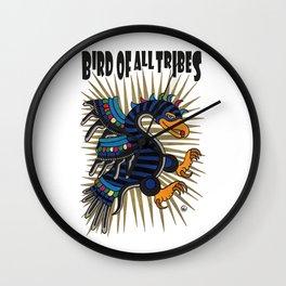 BIRD OF ALL TRIBES #2 Wall Clock