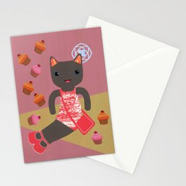 cupcake shower Stationery Cards