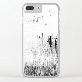 The Waterside Clear iPhone Case