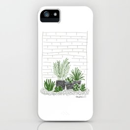backyard plant iPhone Case