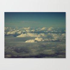 Clouds - HNL to GUM Canvas Print