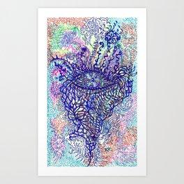 Eye of Pachamama Art Print