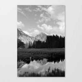 Half Dome Reflection Canvas Print