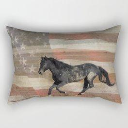 Freedom Run  Rectangular Pillow