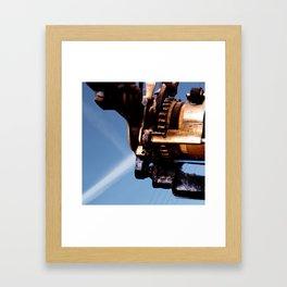 Type One Framed Art Print