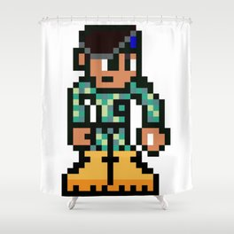 The soldier Shower Curtain