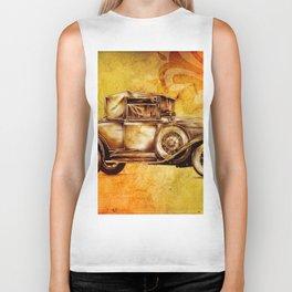 Vintage automobile retro fineart Biker Tank