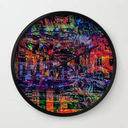 Somewhat City Wall Clock