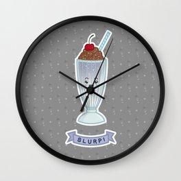 SLURP! Wall Clock