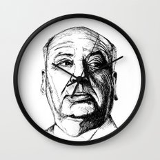 hitchcock Wall Clock