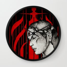 Tranquil mage Wall Clock