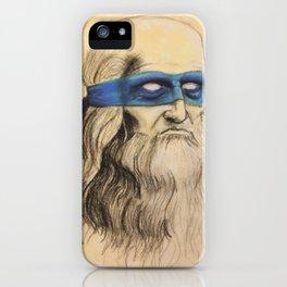 Leo TMNT iPhone Case