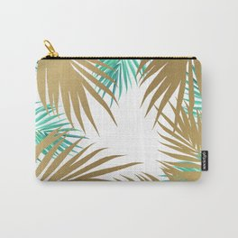 Golden Paradise Beach Pattern Carry-All Pouch