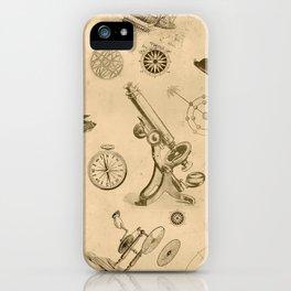 vintage Futurism iPhone Case