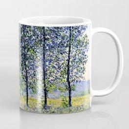 "Claude Monet ""Sunlight Effect under the Poplars"", 1887 Coffee Mug"