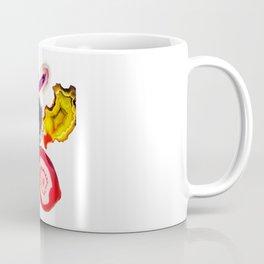 Semi-Precious Agate Burst, Earth's Core Flowers Coffee Mug