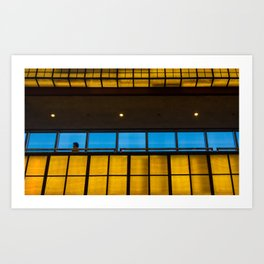 Complimentary Colors Walkway Art Print