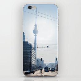 Berlin, Alexanderplatz and TV Tower iPhone Skin