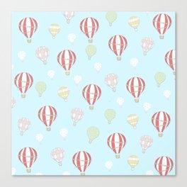 Hot Air Balloon Parade Canvas Print
