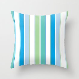 Lil Monsters - pattern 3 Throw Pillow