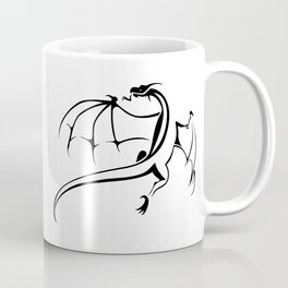 A simple flying dragon Coffee Mug