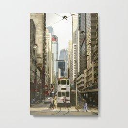Hong Kong Beauty Metal Print