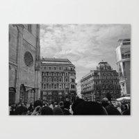 vienna Canvas Prints featuring Vienna by McLane O'Daniell