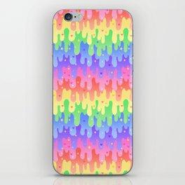 Rainbow Slime iPhone Skin