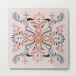 Tile Art III Metal Print