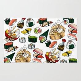 Sushi White Rug
