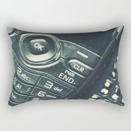 Retro Communication 1 Rectangular Pillow