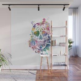 Sugar Skull Wall Mural