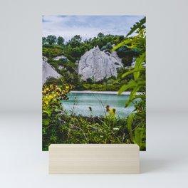 A Place of Peace. Landscape Photograph. Scarborough Bluffs Mini Art Print