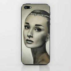 Audrey Hepburn iPhone & iPod Skin