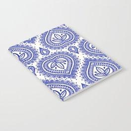 Decorative Blue Notebook
