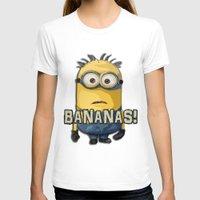 minion T-shirts featuring Minion by DisPrints