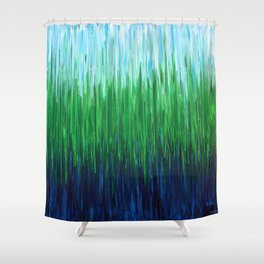 :: Sea Grass :: Shower Curtain