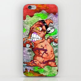 The Angry Appendix iPhone Skin