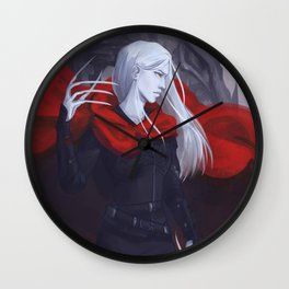 Ironteeth Witch Wall Clock