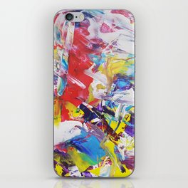 Happy Colors iPhone Skin