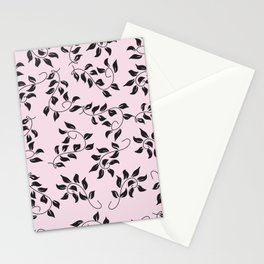 Peite Purple Floral Stationery Cards