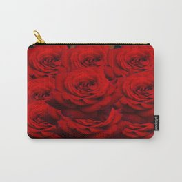Leopard Rose  Carry-All Pouch