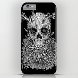 Lumbermancer B/W iPhone Case